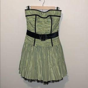 Gunne Sax Strapless Vintage Dress